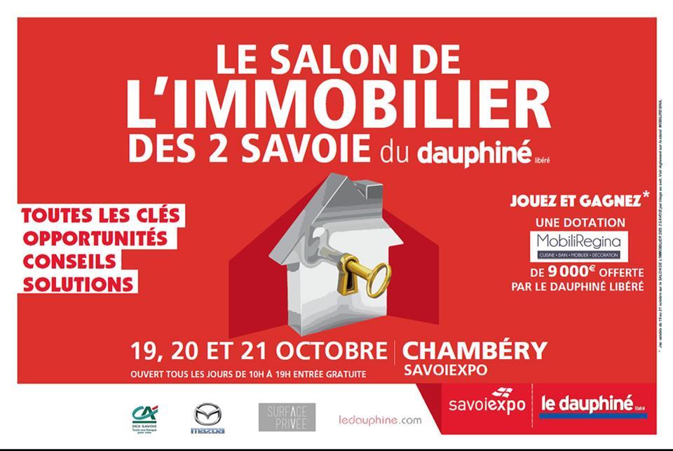 SALON IMMOBILIER DES 2 SAVOIES 19-20-21 OCT 2018